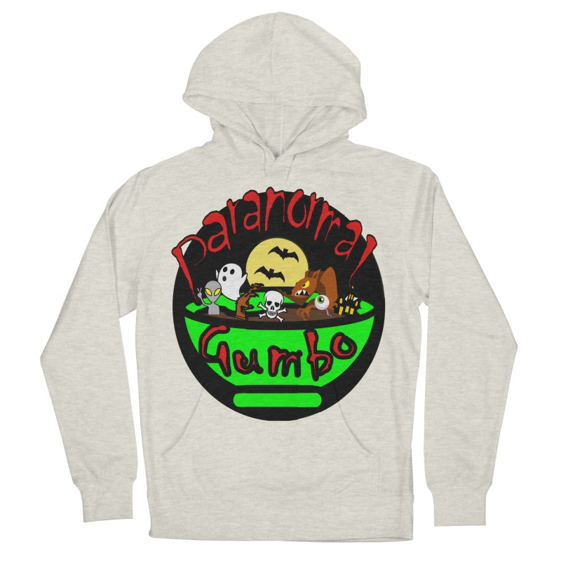Paranormal Gumbo Original Logo Products Women's French Terry Pullover Hoody by Paranormal Gumbo