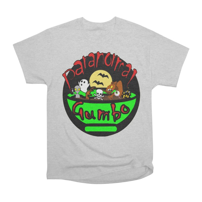 Paranormal Gumbo Original Logo Products Women's Heavyweight Unisex T-Shirt by Paranormal Gumbo