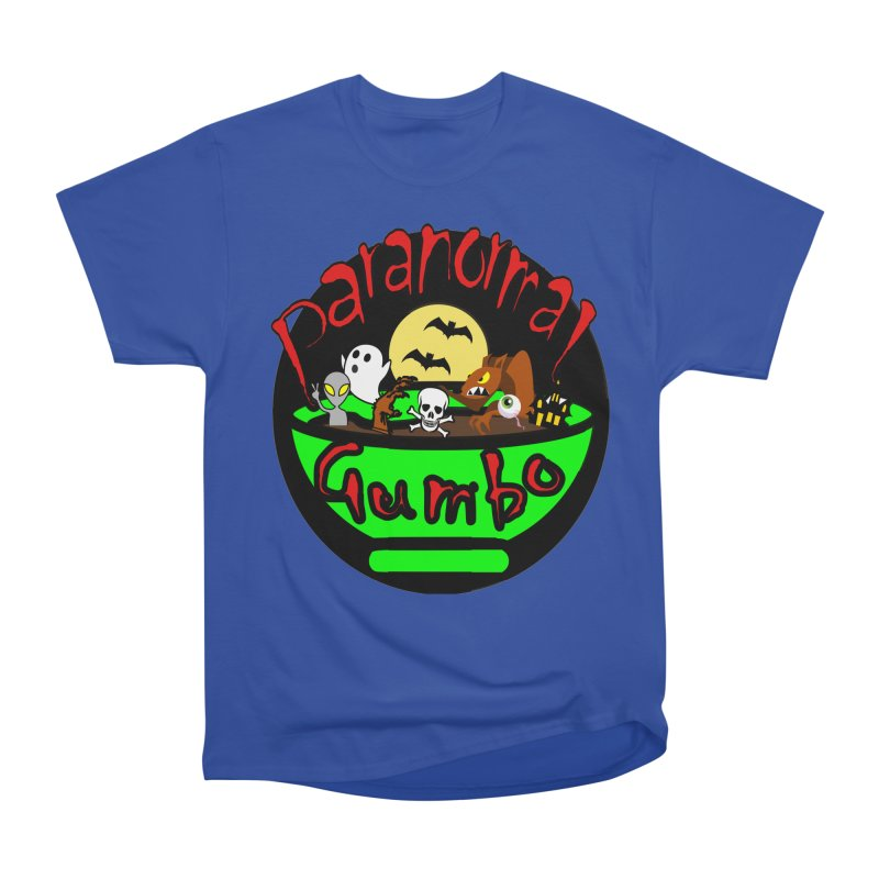 Paranormal Gumbo Original Logo Products Men's Heavyweight T-Shirt by Paranormal Gumbo