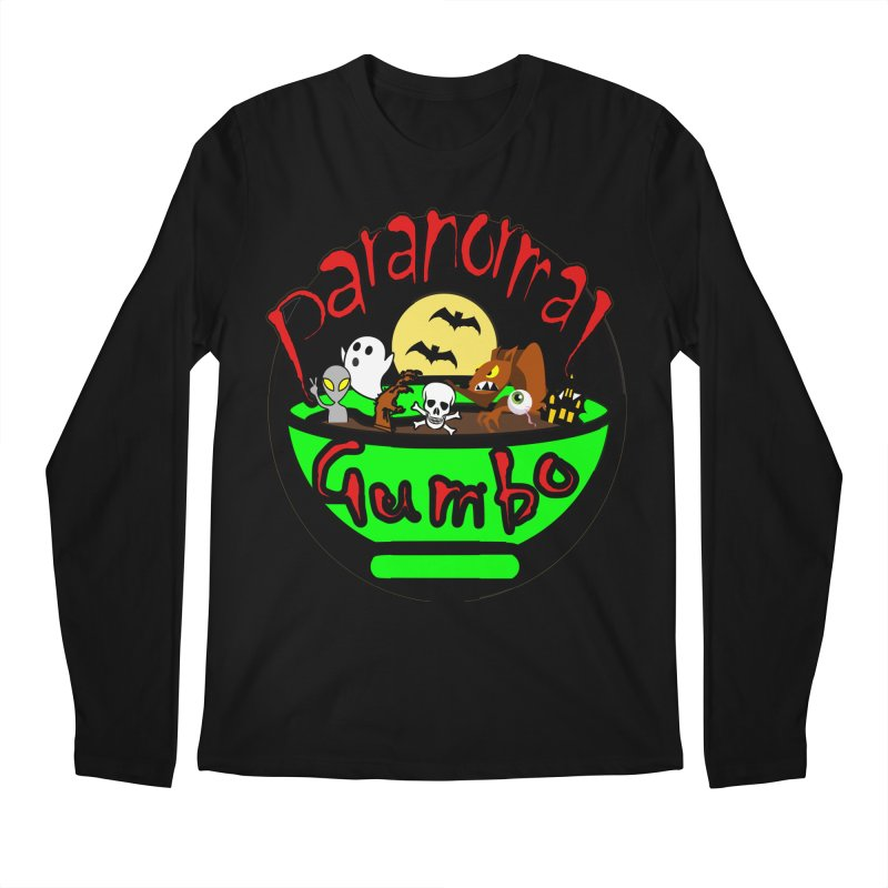 Paranormal Gumbo Original Logo Products Men's Regular Longsleeve T-Shirt by Paranormal Gumbo