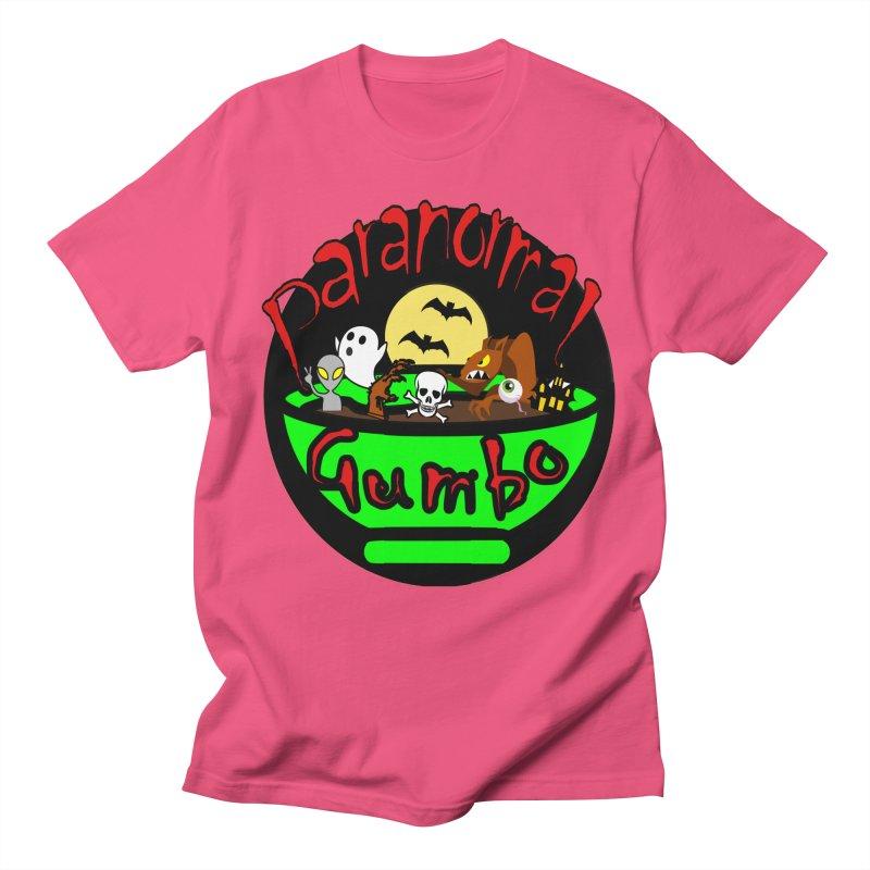 Paranormal Gumbo Original Logo Products Women's Regular Unisex T-Shirt by Paranormal Gumbo