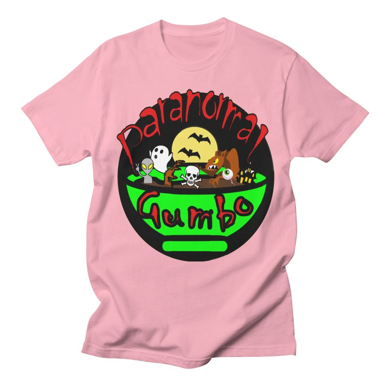 Paranormal Gumbo Original Logo Products Men's Regular T-Shirt by Paranormal Gumbo