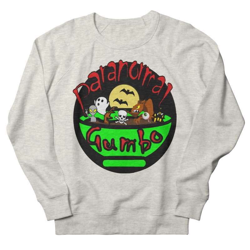 Paranormal Gumbo Original Logo Products Men's French Terry Sweatshirt by Paranormal Gumbo