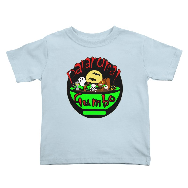 Paranormal Gumbo Original Logo Products Kids Toddler T-Shirt by Paranormal Gumbo