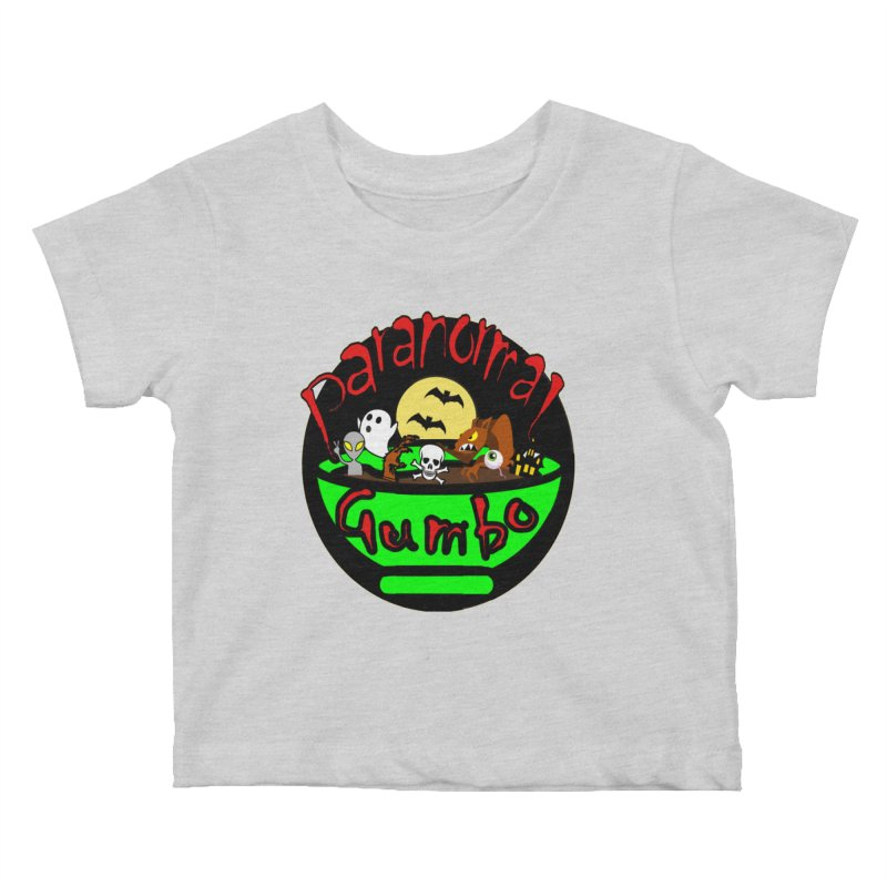 Paranormal Gumbo Original Logo Products Kids Baby T-Shirt by Paranormal Gumbo