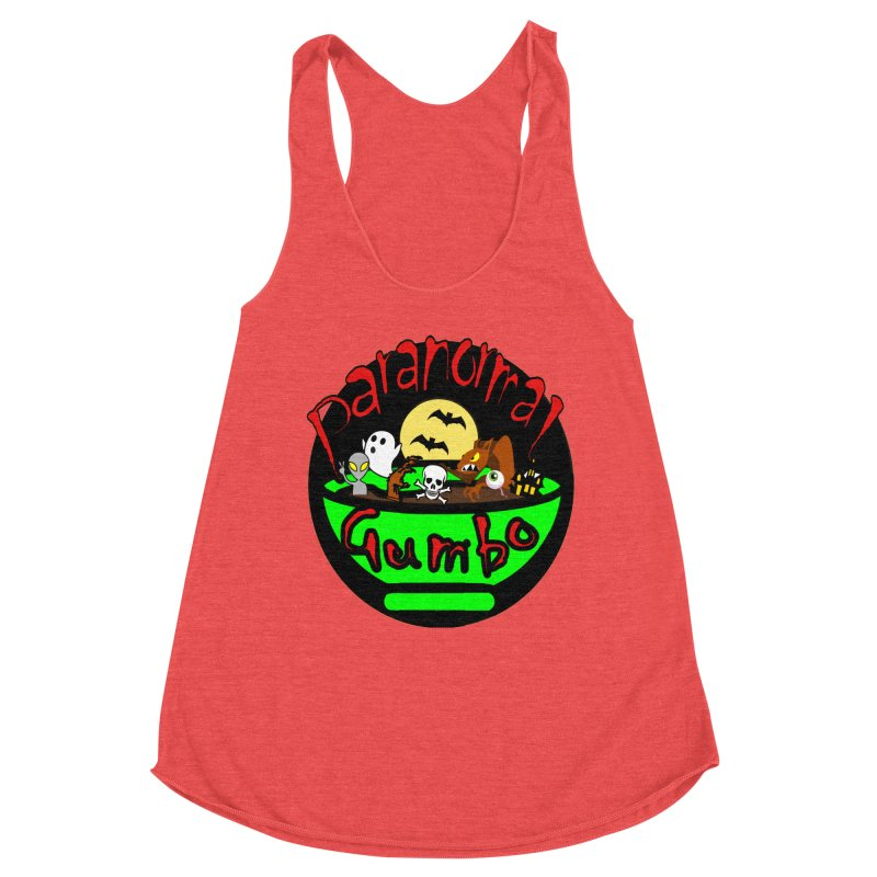 Paranormal Gumbo Original Logo Products Women's Tank by Paranormal Gumbo
