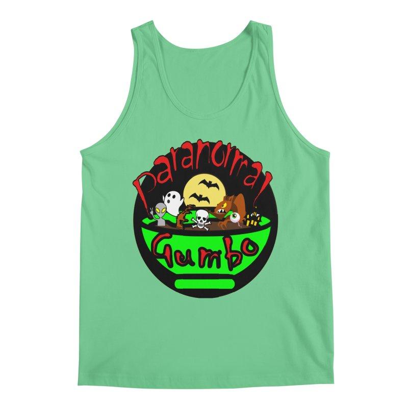 Paranormal Gumbo Original Logo Products Men's Regular Tank by Paranormal Gumbo