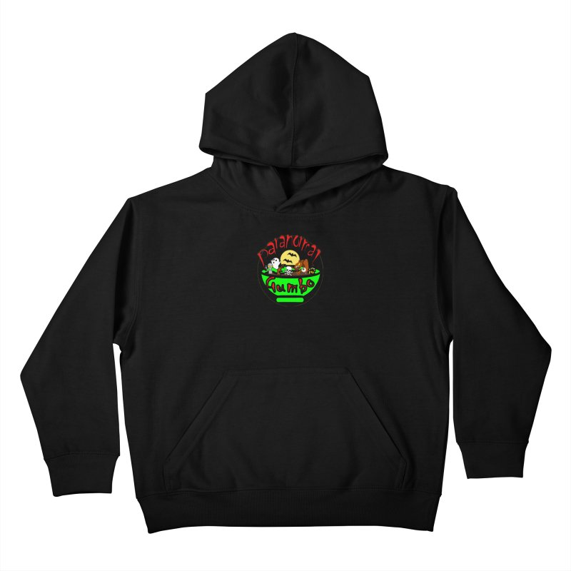 Paranormal Gumbo Original Logo Products Kids Pullover Hoody by Paranormal Gumbo