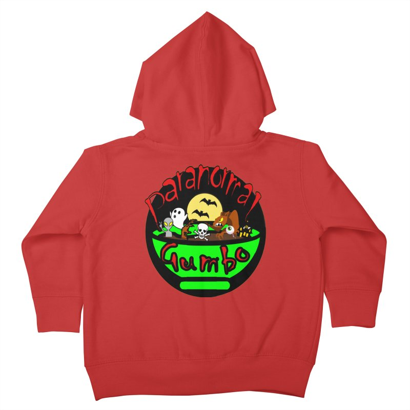 Paranormal Gumbo Original Logo Products Kids Toddler Zip-Up Hoody by Paranormal Gumbo