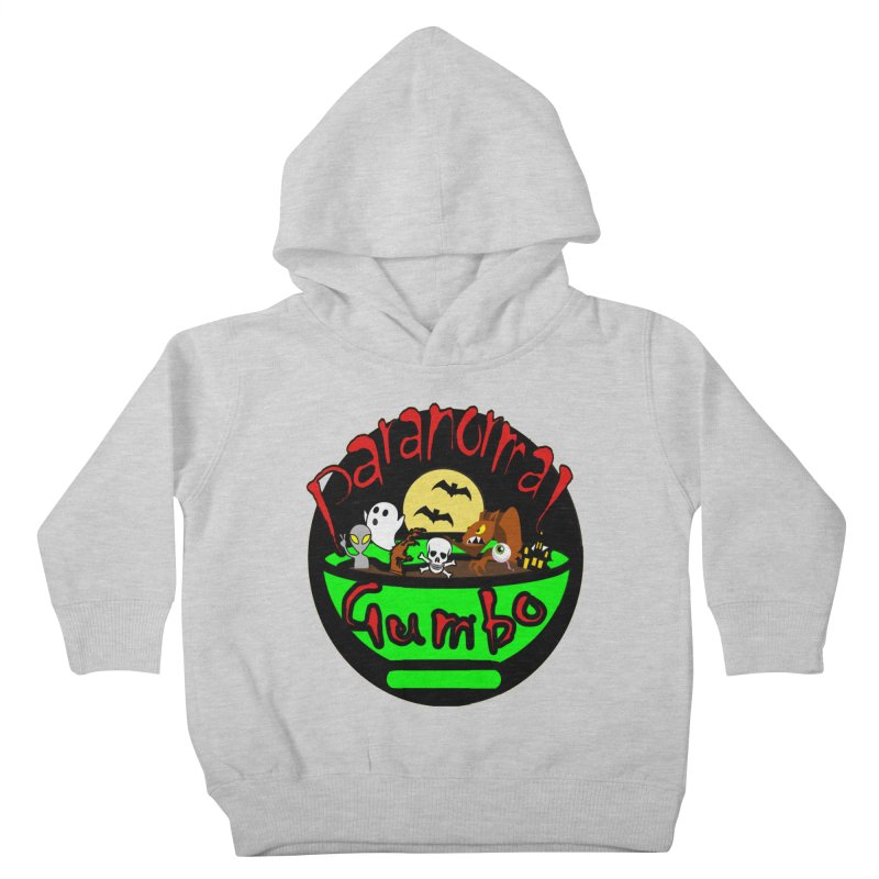 Paranormal Gumbo Original Logo Products Kids Toddler Pullover Hoody by Paranormal Gumbo