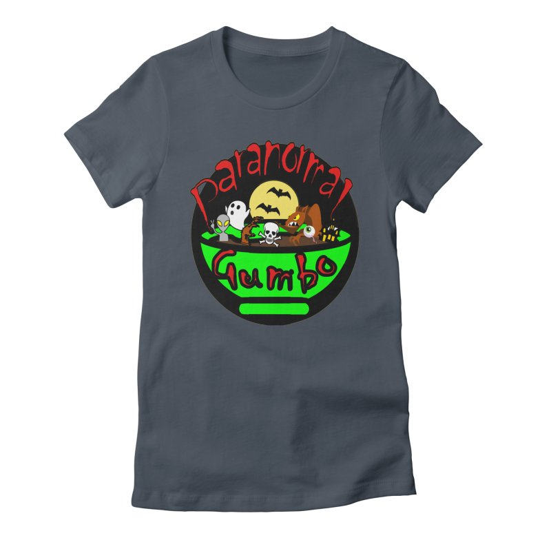 Paranormal Gumbo Original Logo Products Women's T-Shirt by Paranormal Gumbo