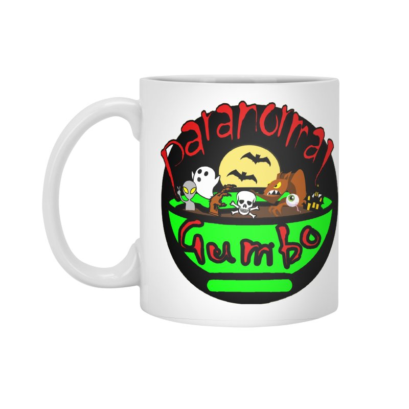 Paranormal Gumbo Original Logo Products Accessories Standard Mug by Paranormal Gumbo