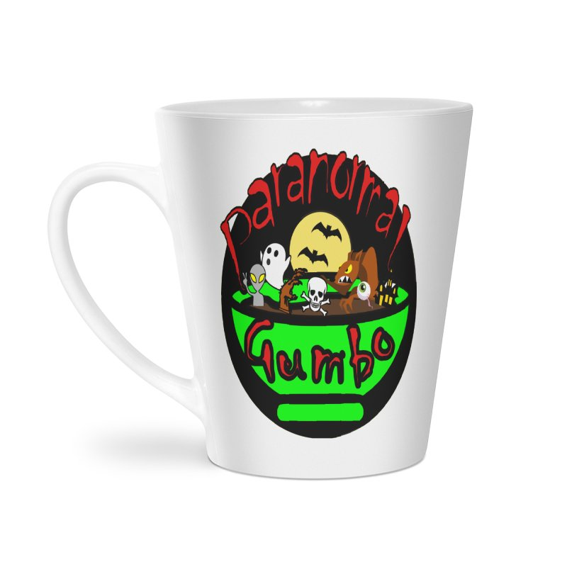 Paranormal Gumbo Original Logo Products Accessories Latte Mug by Paranormal Gumbo