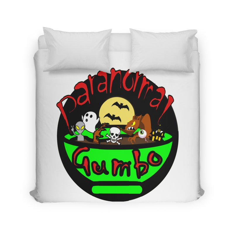 Paranormal Gumbo Original Logo Products Home Duvet by Paranormal Gumbo