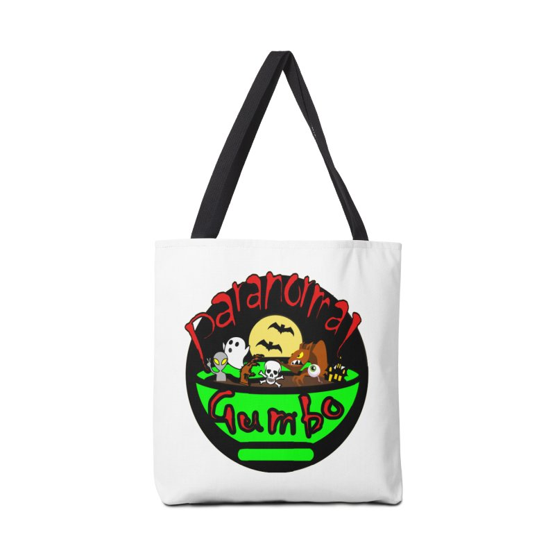 Paranormal Gumbo Original Logo Products Accessories Tote Bag Bag by Paranormal Gumbo