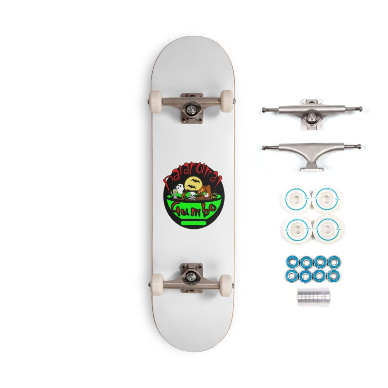 Paranormal Gumbo Original Logo Products Accessories Complete - Basic Skateboard by Paranormal Gumbo