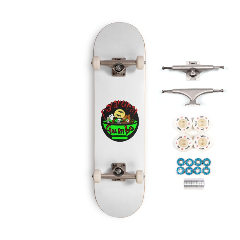 Paranormal Gumbo Original Logo Products Accessories Complete - Premium Skateboard by Paranormal Gumbo