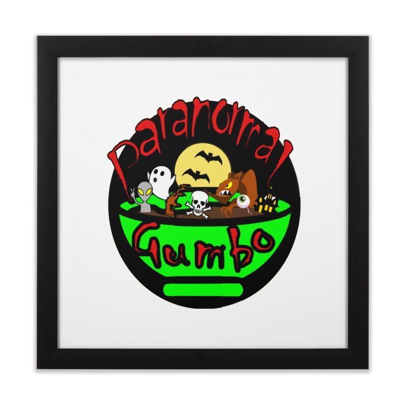 Paranormal Gumbo Original Logo Products Home Framed Fine Art Print by Paranormal Gumbo