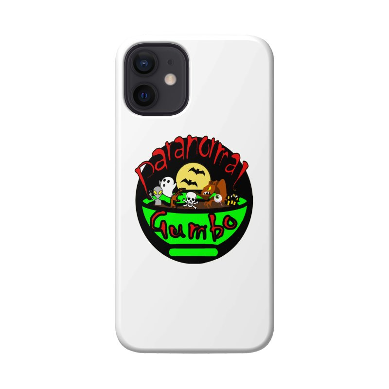 Paranormal Gumbo Original Logo Products Accessories Phone Case by Paranormal Gumbo