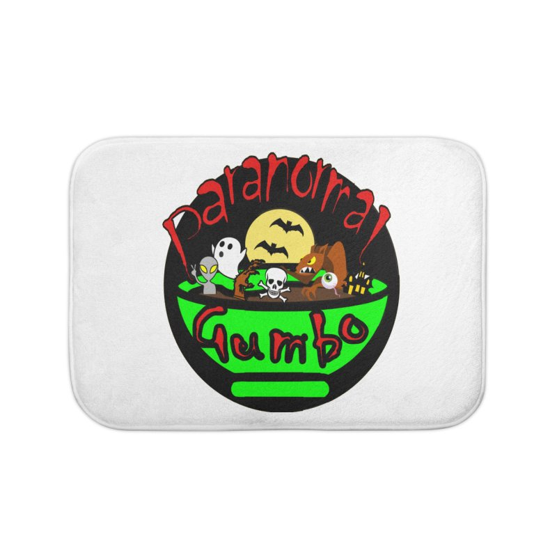 Paranormal Gumbo Original Logo Products Home Bath Mat by Paranormal Gumbo