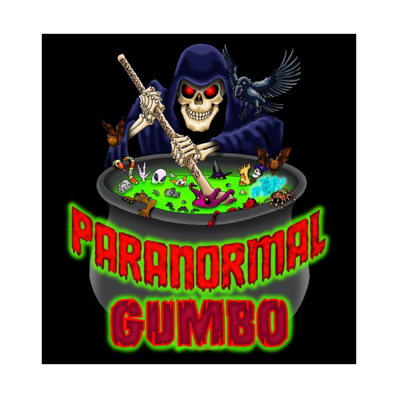 Paranormal Gumbo Grim Reaper Logo Products Men's T-Shirt by Paranormal Gumbo