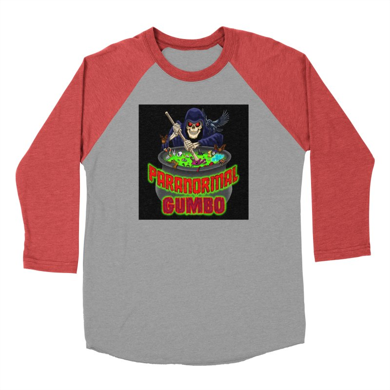 Paranormal Gumbo Grim Reaper Logo Products Men's Longsleeve T-Shirt by Paranormal Gumbo