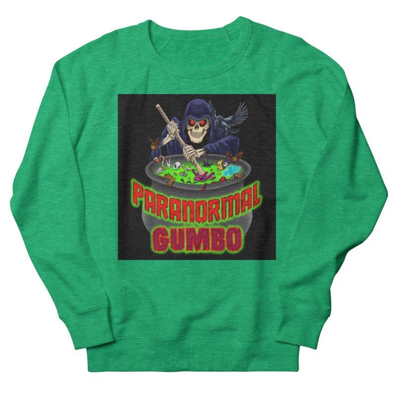 Paranormal Gumbo Grim Reaper Logo Products Women's Sweatshirt by Paranormal Gumbo