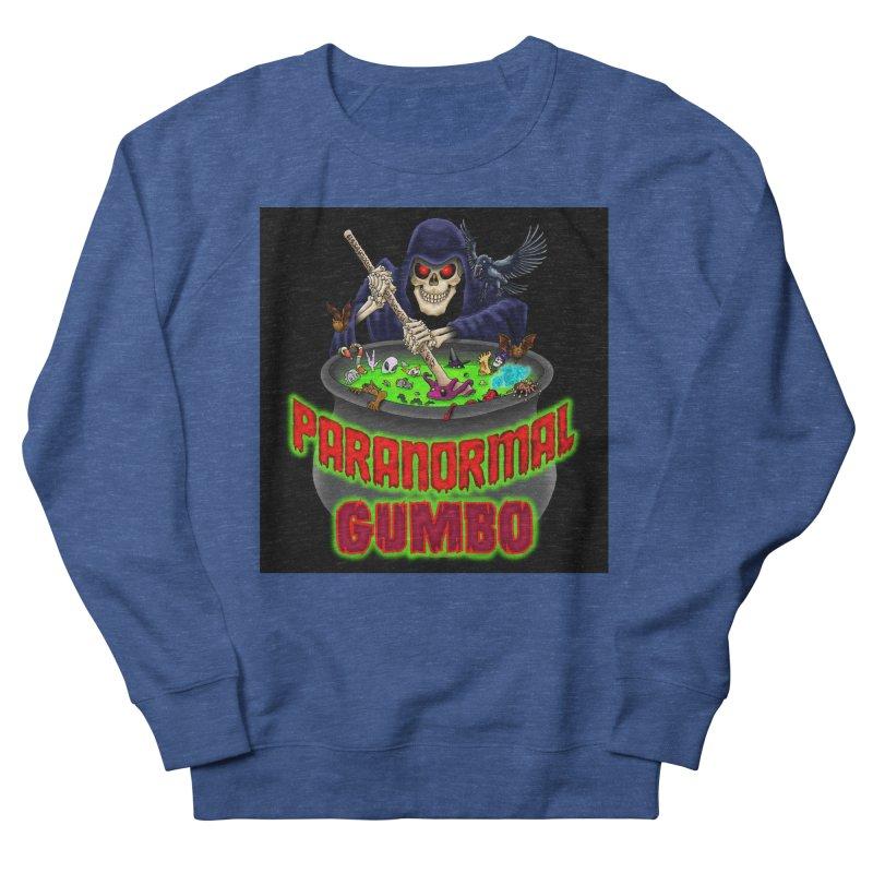 Paranormal Gumbo Grim Reaper Logo Products Men's Sweatshirt by Paranormal Gumbo