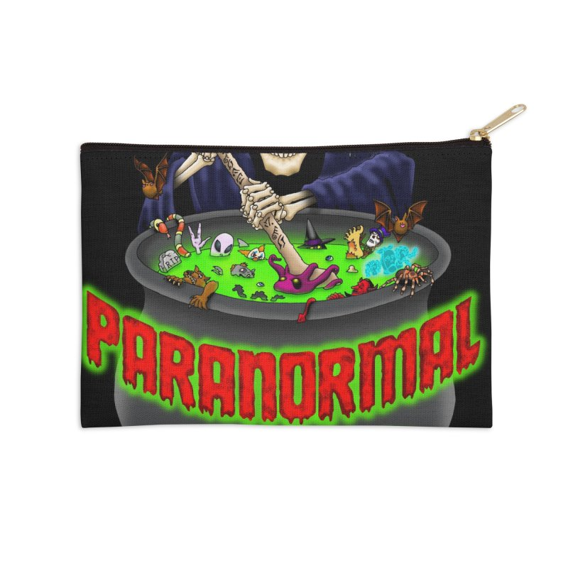 Paranormal Gumbo Grim Reaper Logo Products Accessories Zip Pouch by Paranormal Gumbo