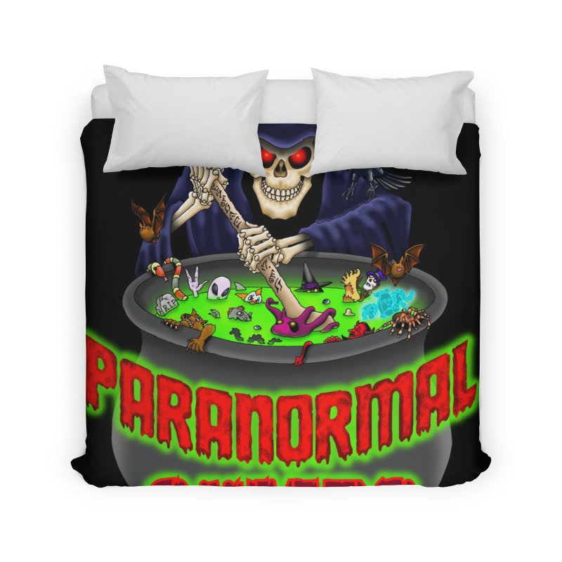 Paranormal Gumbo Grim Reaper Logo Products Home Duvet by Paranormal Gumbo