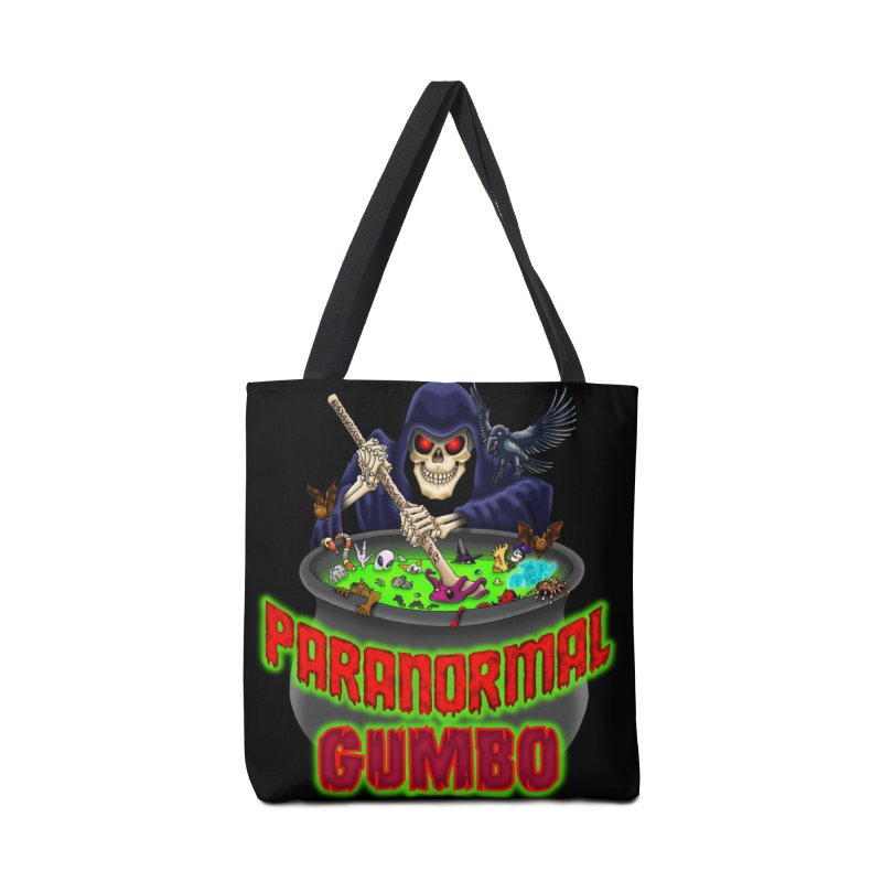 Paranormal Gumbo Grim Reaper Logo Products Accessories Bag by Paranormal Gumbo