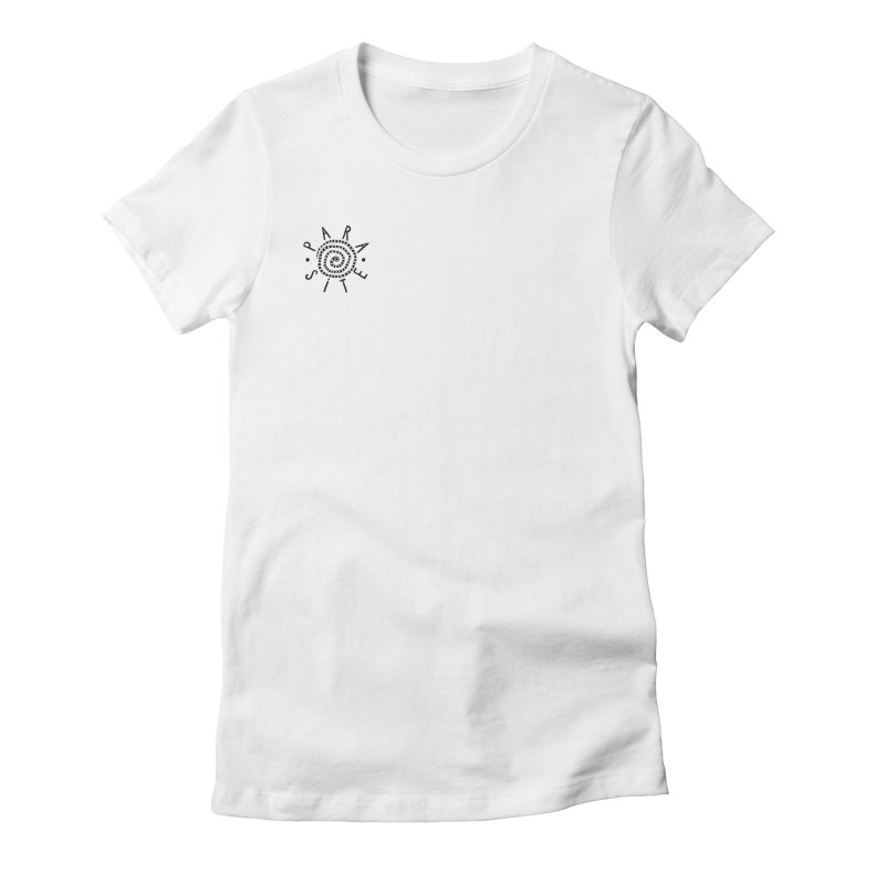 Para-Site crest  Women's Fitted T-Shirt by Parasite