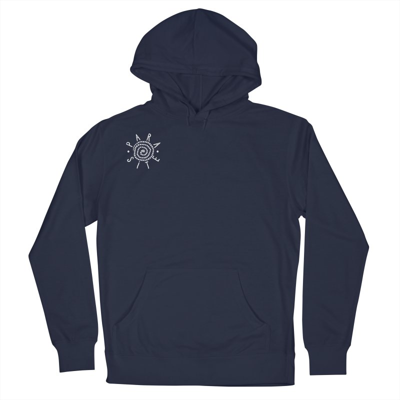 Para-Site small crest white Men's Pullover Hoody by Parasite
