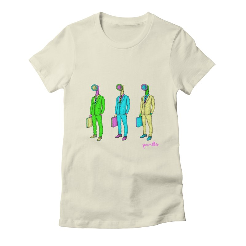 PARASITE CORP Women's Fitted T-Shirt by Parasite