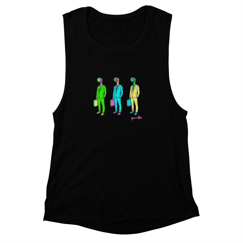 PARASITE CORP Women's Muscle Tank by Parasite