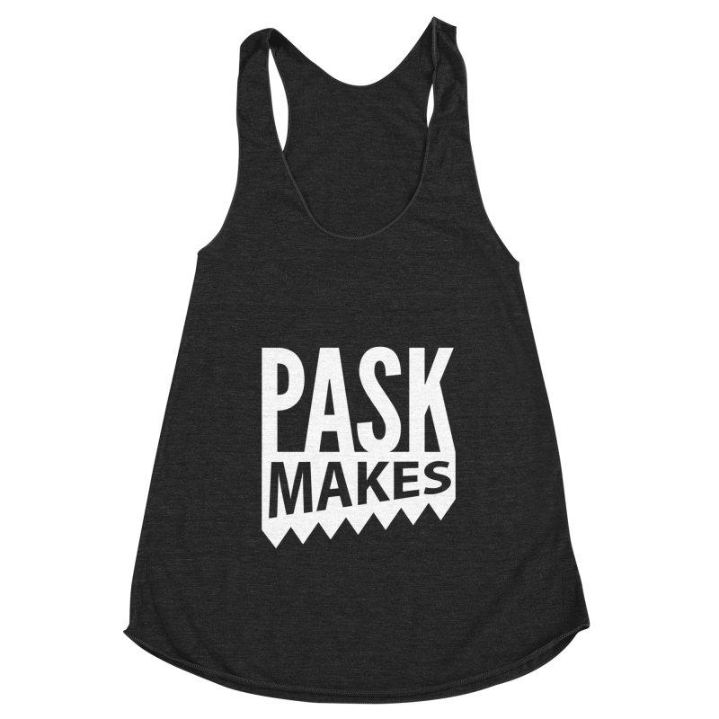 Pask Makes Women's Racerback Triblend Tank by Pask Makes's Artist Shop