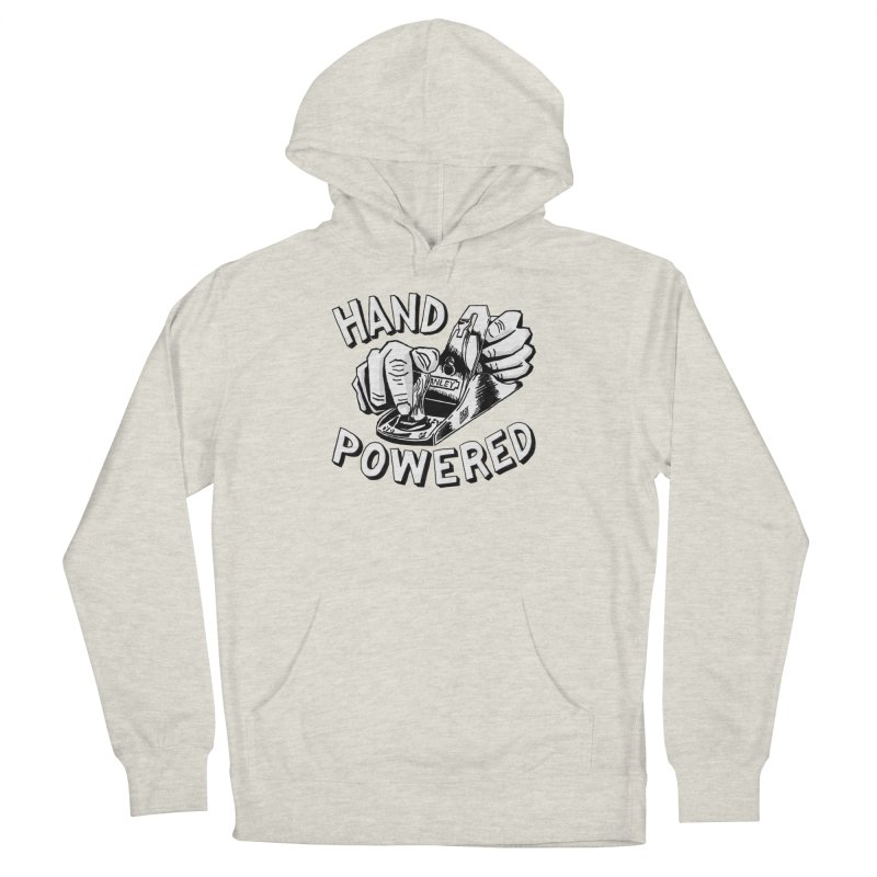Hand Powered Women's French Terry Pullover Hoody by Pask Makes's Artist Shop