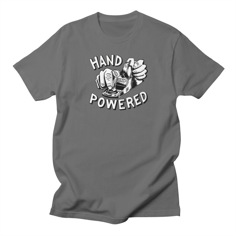 Hand Powered Men's T-Shirt by Pask Makes's Artist Shop