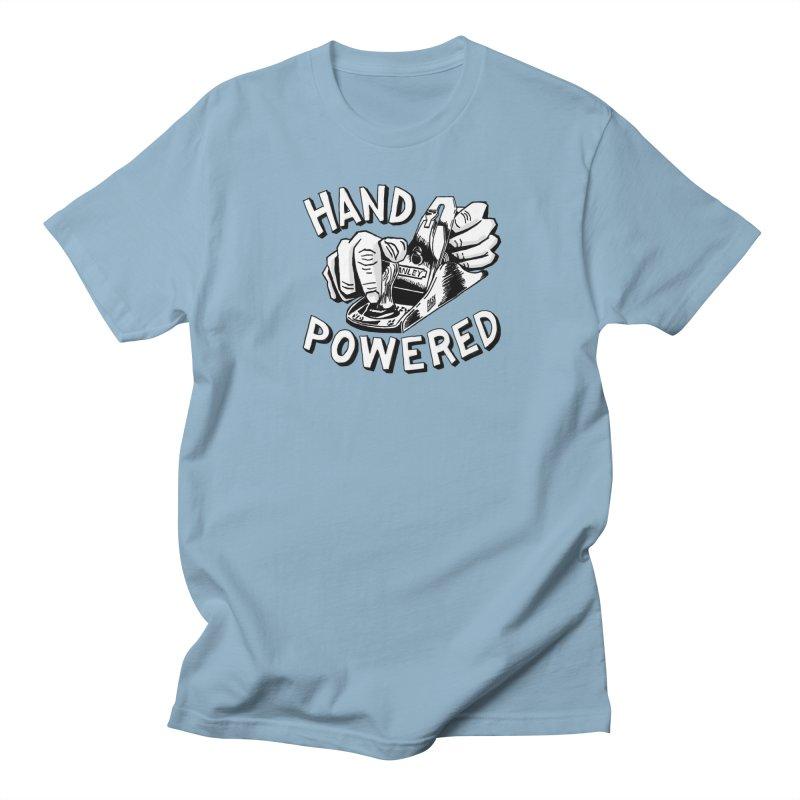 Hand Powered Men's Regular T-Shirt by PaskMakes's Artist Shop