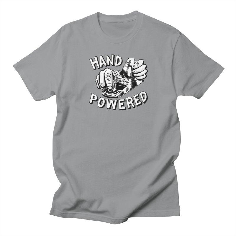 Hand Powered Women's Regular Unisex T-Shirt by Pask Makes's Artist Shop