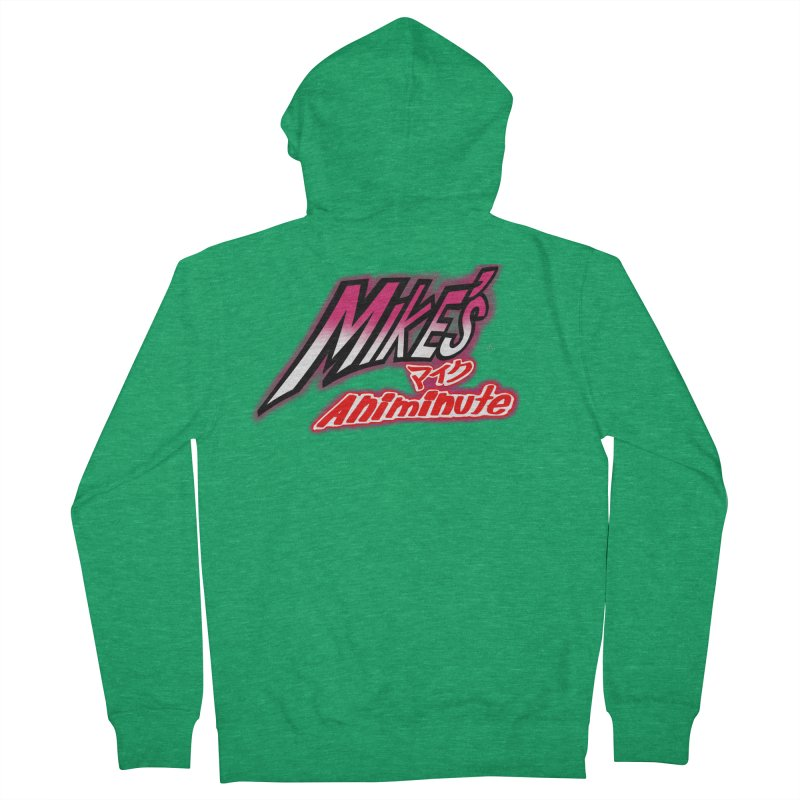 Mike's Animinute (JBA) Men's French Terry Zip-Up Hoody by Official Pass The Controller Store