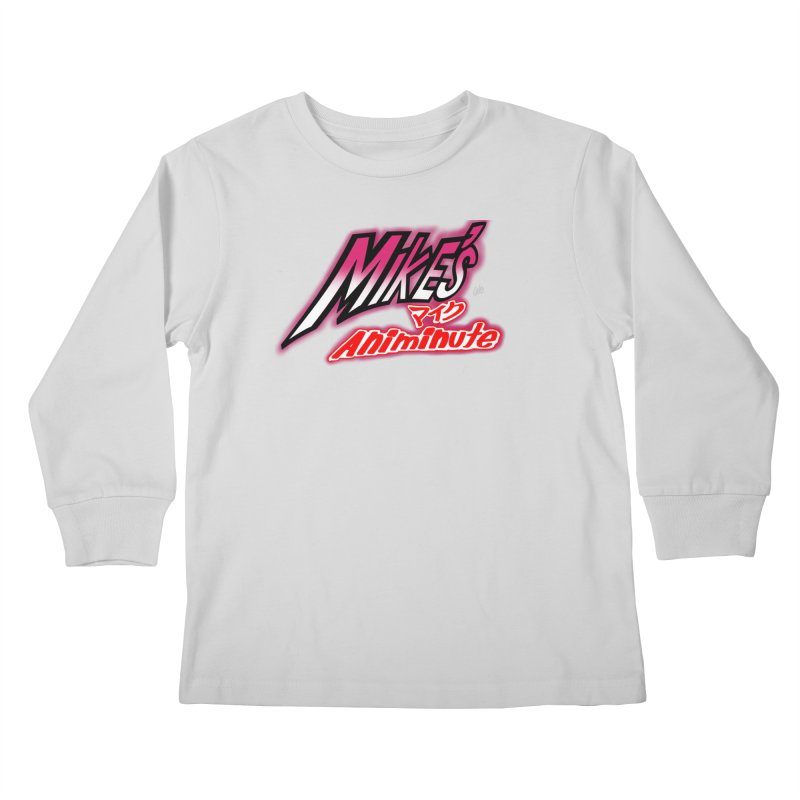 Mike's Animinute (JBA) Kids Longsleeve T-Shirt by Official Pass The Controller Store