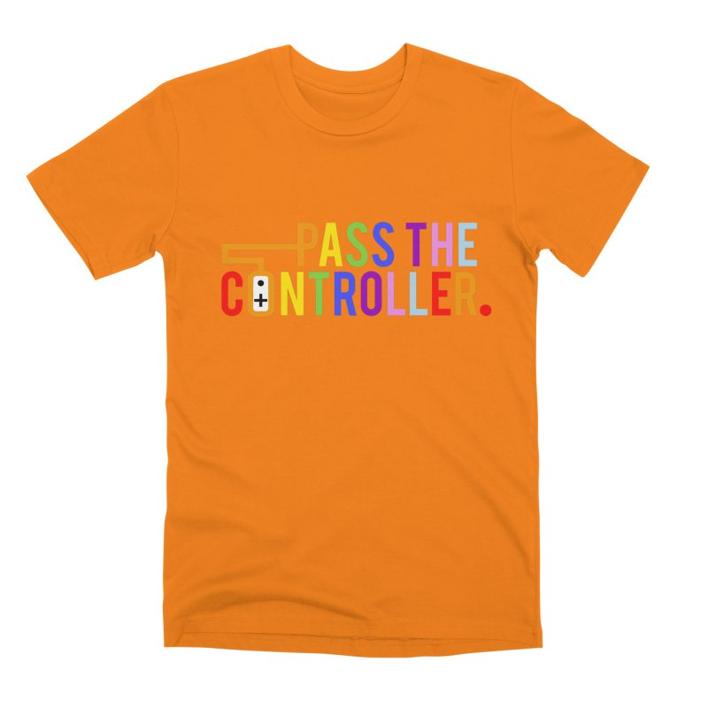 PTC Pride Men's T-Shirt by Official Pass The Controller Store