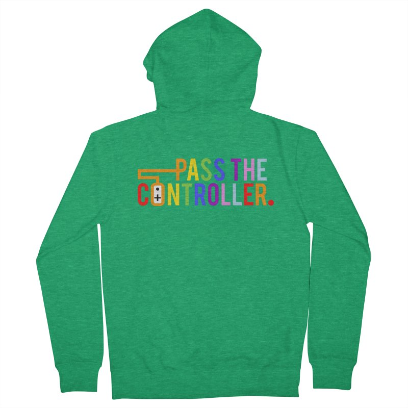 PTC Pride Men's Zip-Up Hoody by Official Pass The Controller Store