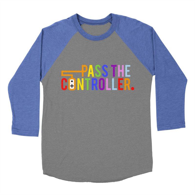 PTC Pride Women's Baseball Triblend Longsleeve T-Shirt by Official Pass The Controller Store
