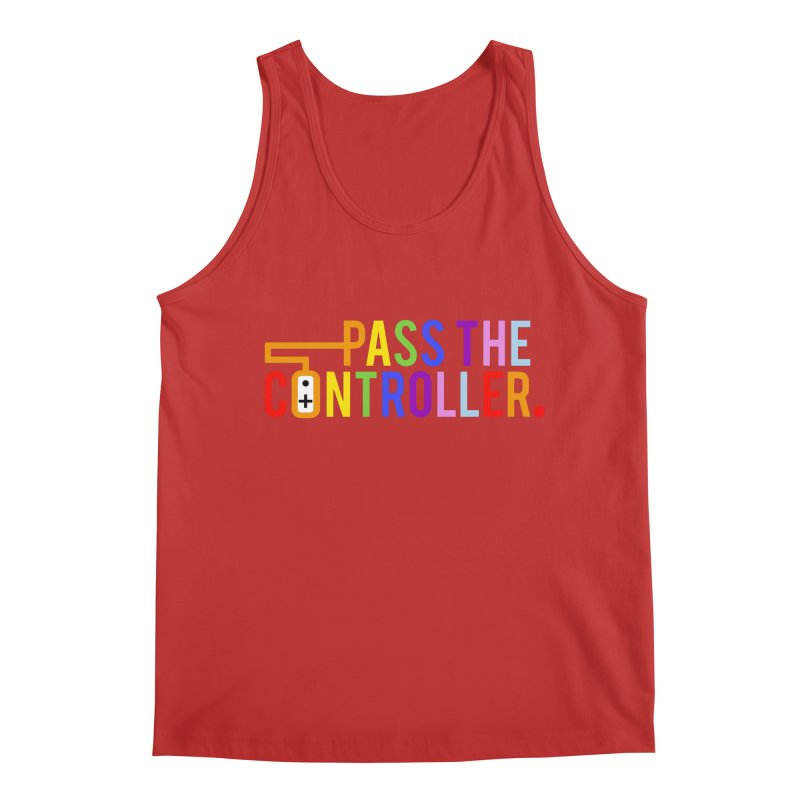 PTC Pride Men's Tank by Official Pass The Controller Store