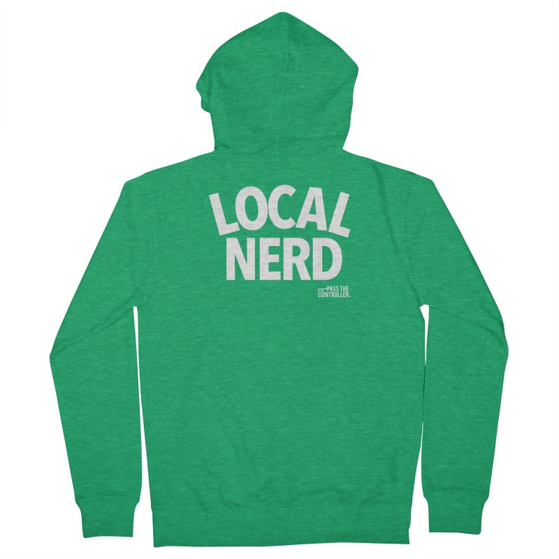 Local Nerd Women's Zip-Up Hoody by Official Pass The Controller Store