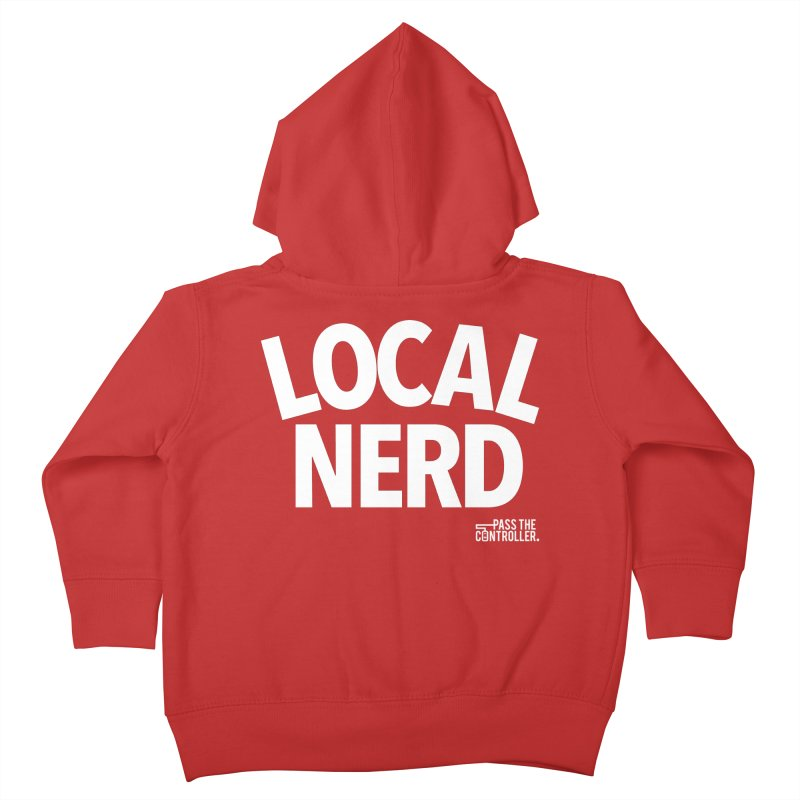 Local Nerd Kids Toddler Zip-Up Hoody by Official Pass The Controller Store