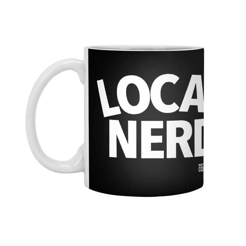Local Nerd Accessories Mug by Official Pass The Controller Store