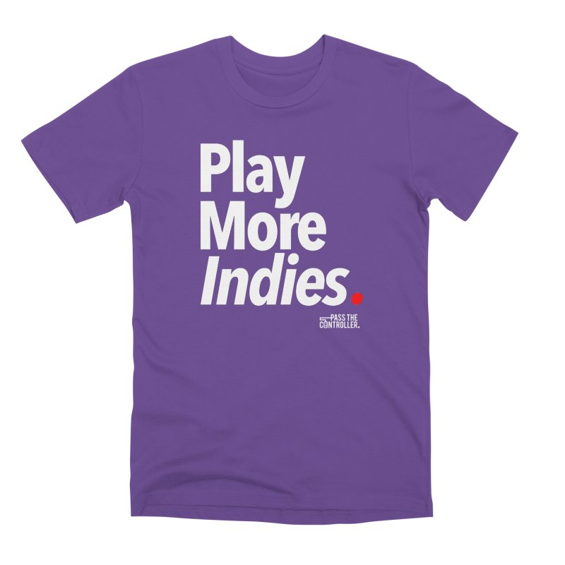 Play More Indies (Series 1) Men's Premium T-Shirt by Official Pass The Controller Store